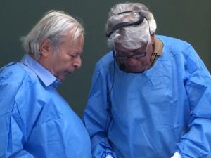 Alain Gilbert y Piero Raimondi