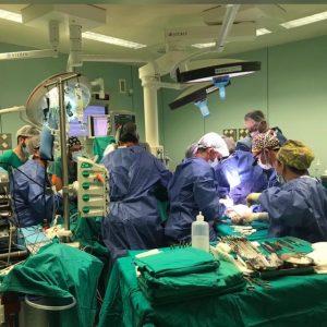 Equipo de microcirugia reconstructiva